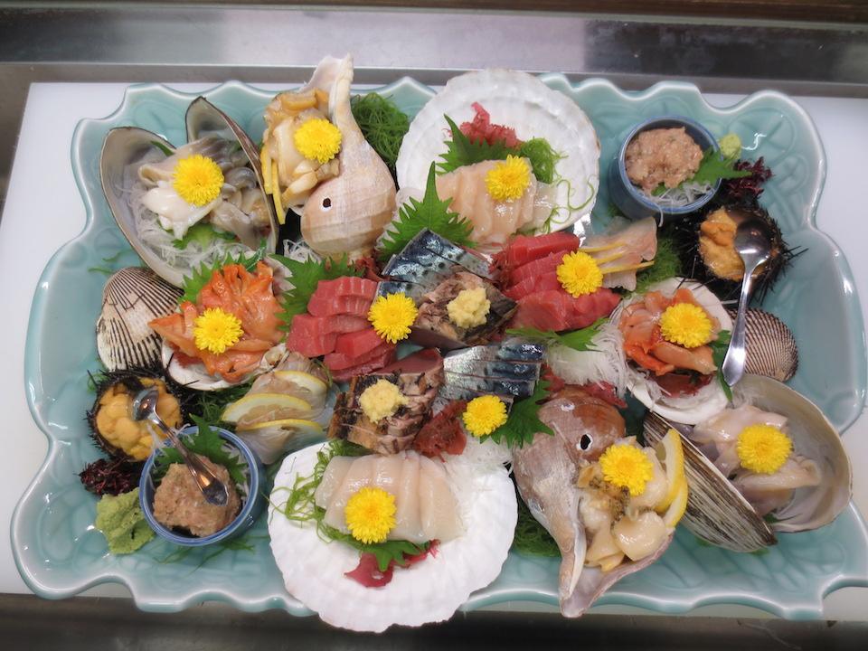 海鮮季節料理 おおいし