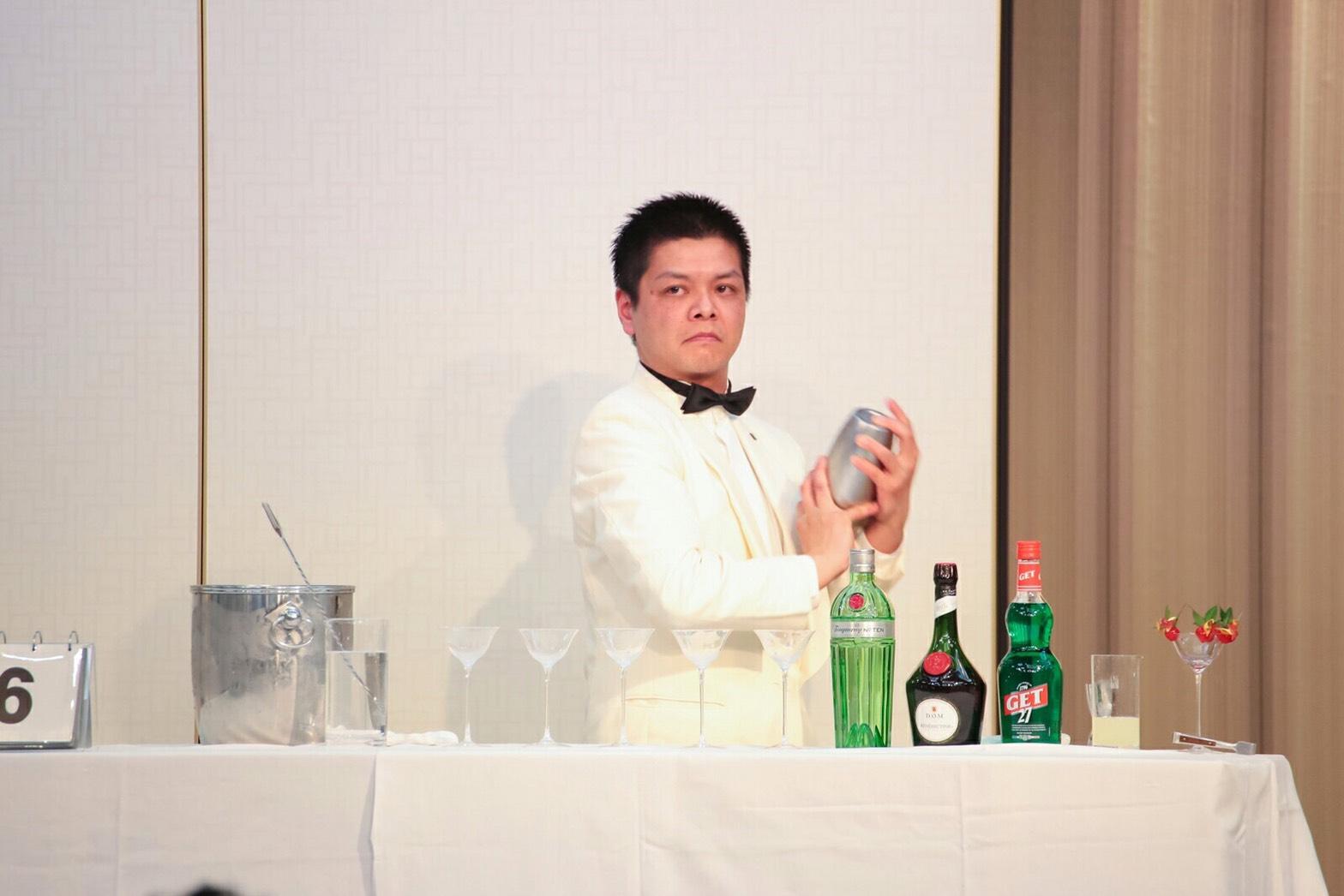 豊間根隆一 東北6位のカクテル【新緑】ヴェルドゥール!