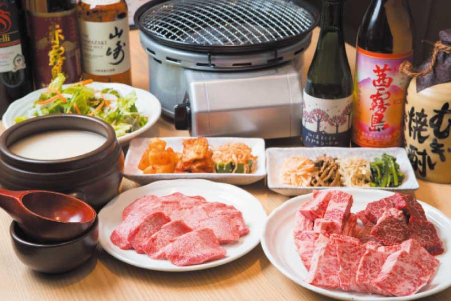 焼肉・韓国料理 かもめ商店